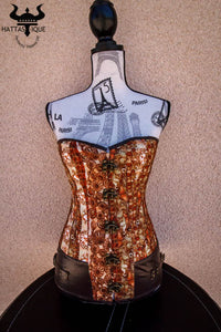 The Hidden Butterfly Steampunk Corset