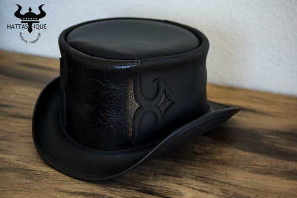 Caliber Black Top Hat Side View