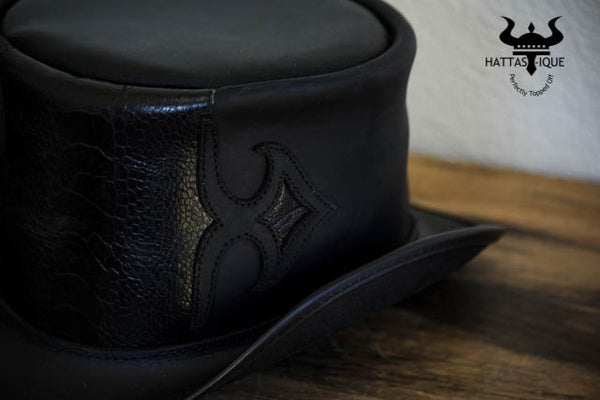 Caliber Black Top Hat Detail View