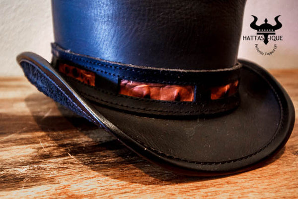 Rider with Duel Leather Hatband