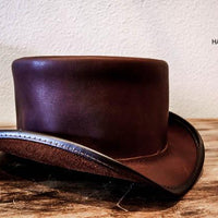 rider top hat brown