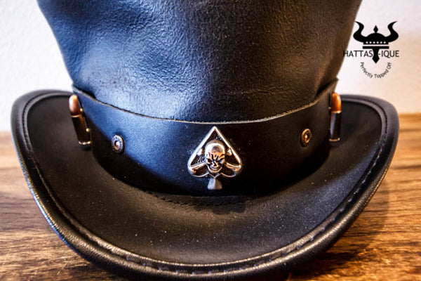 Coachman with Ace and Bullets Hatband