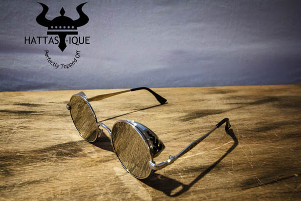 Color Tinted Shades Silver Frame