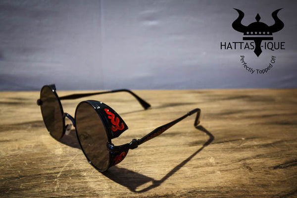 Color Tinted Shades Red Frame