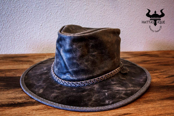 Crusher Leather Western Hat