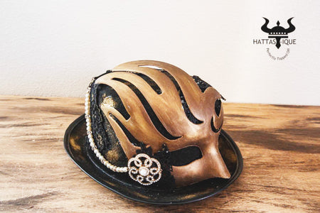 Steampunk Mask Top Hat