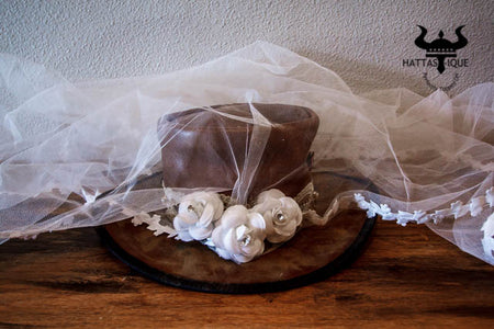Happily Ever After Wedding Top Hat