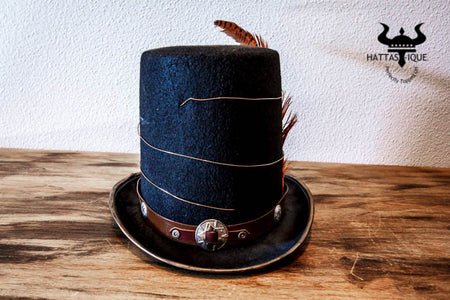 The Tesla Coil Steampunk Top Hat