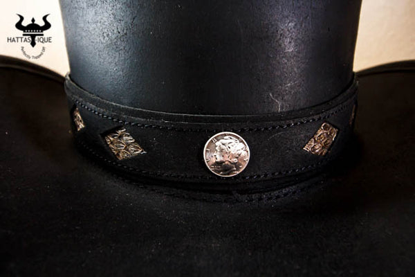 Diamond Inlay Hatband