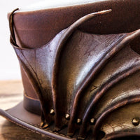 Draco top hat close up on wing