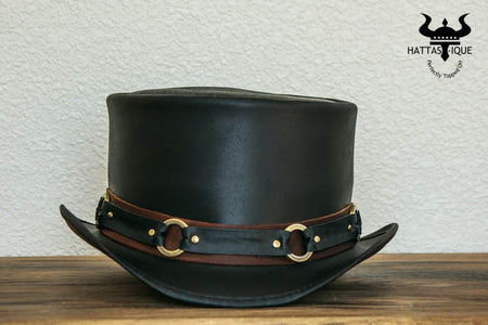El Dorado SR2 Rock Star Leather Top Hat