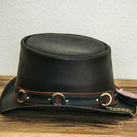El Dorado SR2 Rock Star Leather Top Hat Side View