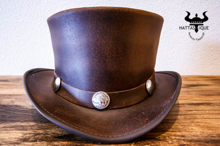 El Dorado with Buffalo Nickle Hatband