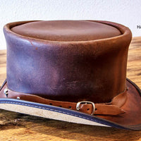 Rider Top Hat with Skully Hatband
