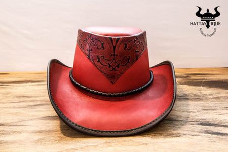 18970a4f9201d Leather Cowboy Hats – Tagged