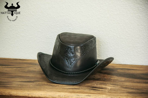 black falcon western hat