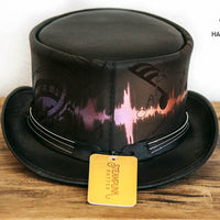 Feedback Leather Top Hat Back View
