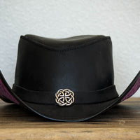 Garbo Top Hat Black
