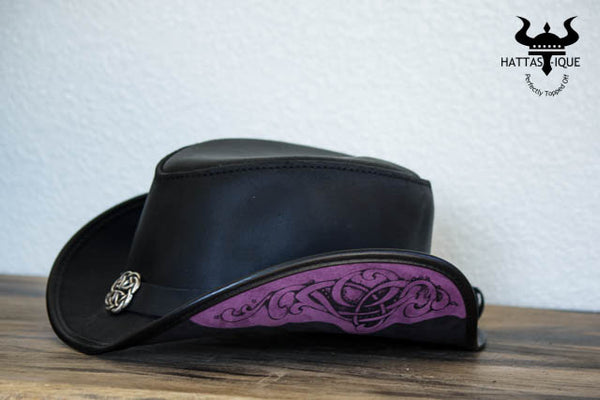 Garbo Top Hat Black side view
