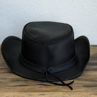 Garbo Top hat Black Back View