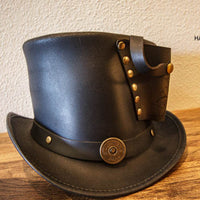Gun Holster Black Topper Top Hat