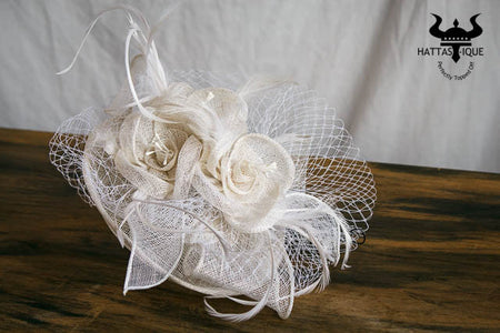 Fancy and Flirty Organza Fascinator hats
