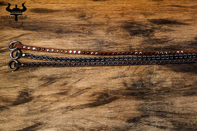 steampunk leather wrist wraps