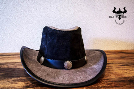 Western with Native Nickle Hatband