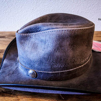 The Grey Cyclone Western Hat