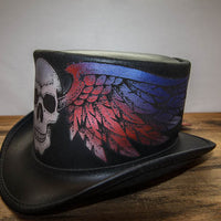 poets revenge top hat side view