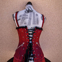 mad moxxie steampunk corset back