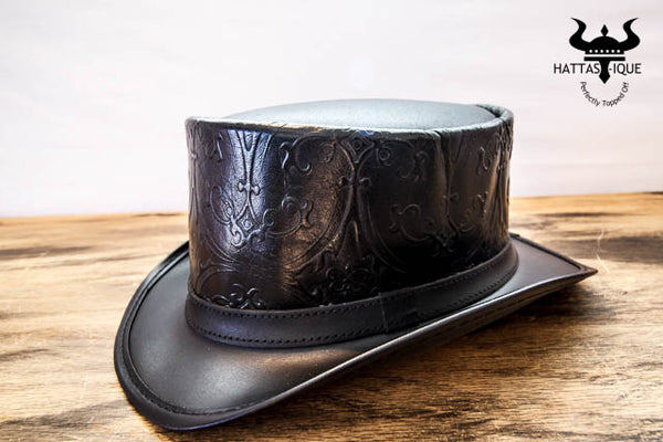black royale top hat side view