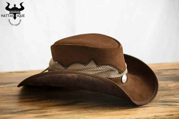 sierra western hat side view