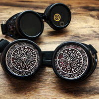 Black Steampunk Goggles