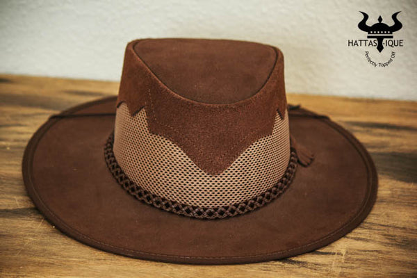 sirocco western hat brown