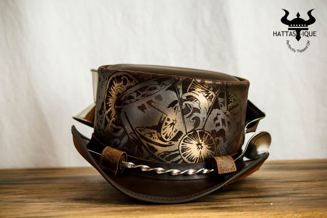 Steampunk Cocktailer Top Hat