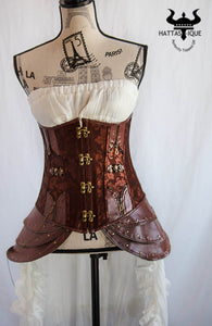 The Mythical Nymph Steampunk Corset