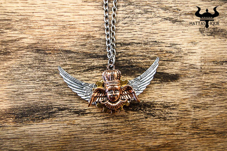 Ancient Steampunk Guardian Necklace