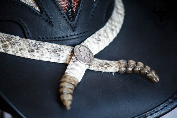 storm western hat close up