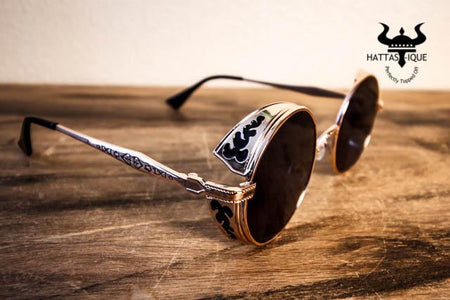 Metal Frame Steampunk Shades
