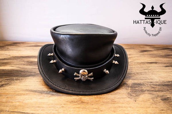 punisher hatband on the el dorado top hat