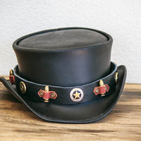 sheriff's hatband on the marlow top hat