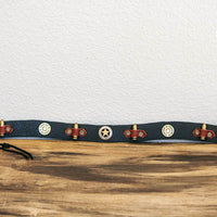sheriff's hatband laid out view