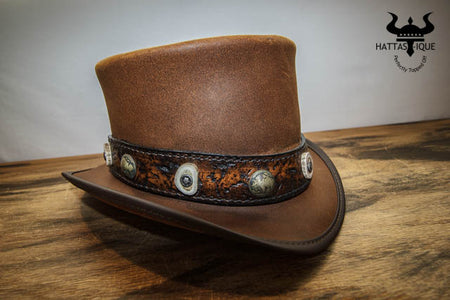 Buffalo Bone Top Hat