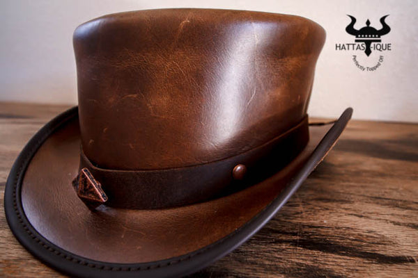 bronze studded marlow top hat