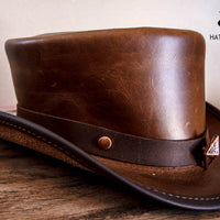 Limited Edition Bronze Studded Top Hat