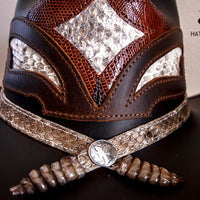 brown storm western hat