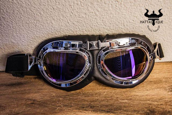purple tint ridding goggles