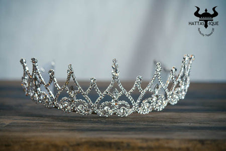 Hearts and Diamonds Bridal Tiara