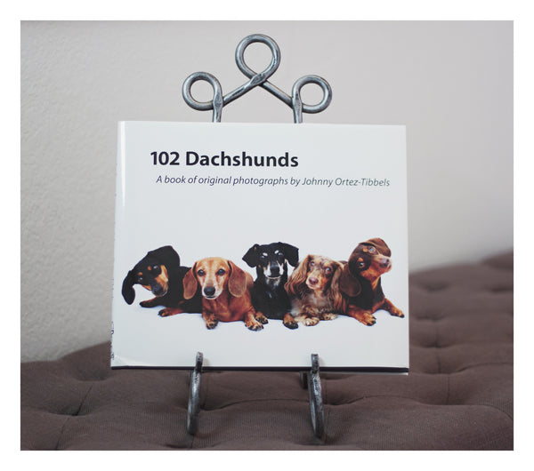102 Dachshunds Coffee Table Book